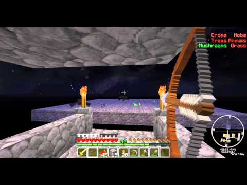Lets Play Sky Block Ep15 Ender Pearling and we has Cows!