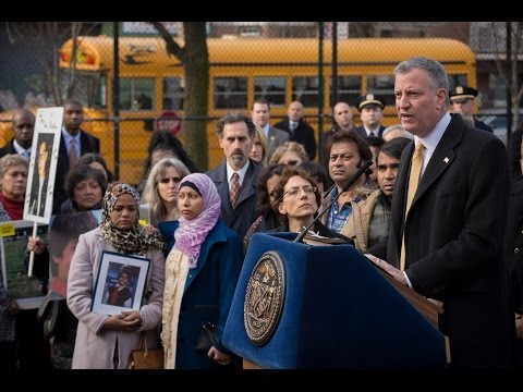 "Mayor de Blasio Launches Working Group to Implement ""Vision Zero,"" Prevent Pedestrian Fatalities"