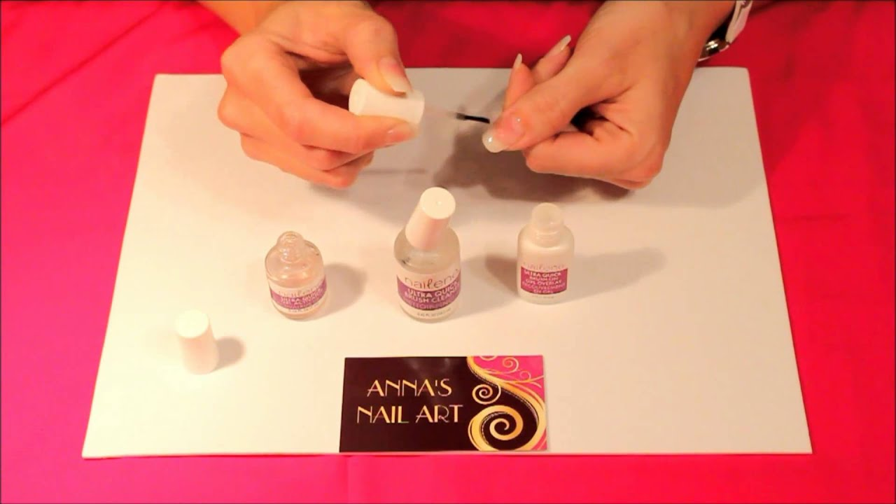 Anna's Nail Art - Gel Nails demonstration - YouTube