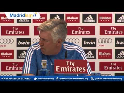 Rueda de prensa Carlo Ancelotti, previa Real Madrid - Althletic