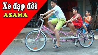 Dương đi xe đạp đôi, Double Bike, Kênh Em Bé ✅