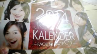 JKT48 Calendar Senbatsu 2014 Unboxing And Preview