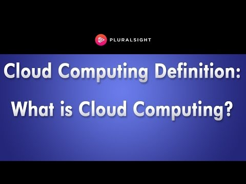 The Real Definition of Cloud Computing