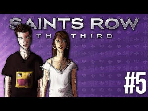 skkf & Madzia: Saints Row: The Third #5 - WŁÓCZKOWY ROZPIERDZIEL