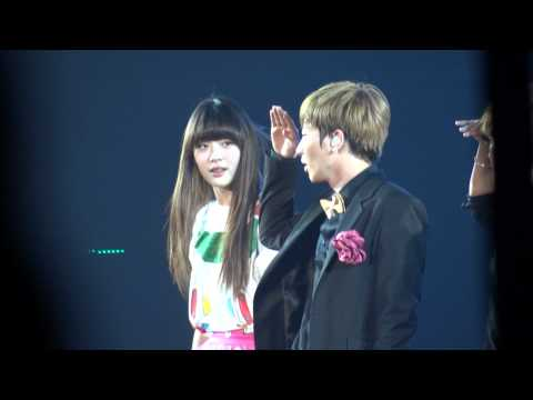 120219 Super Junior - Oops!! (Feat. f(x)) @ Super Show 4 Singapore
