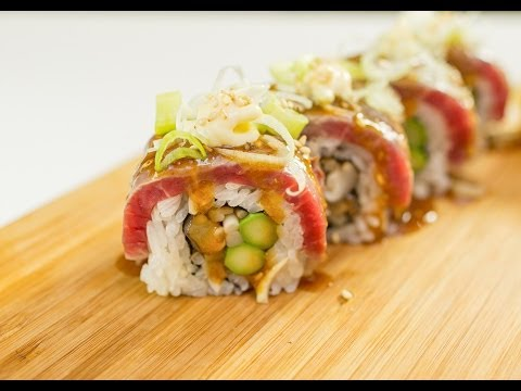 Steak Tataki Sushi Roll Recipe