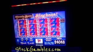 Slot Machine Win Candy Bars Casino Gambling $450 Big