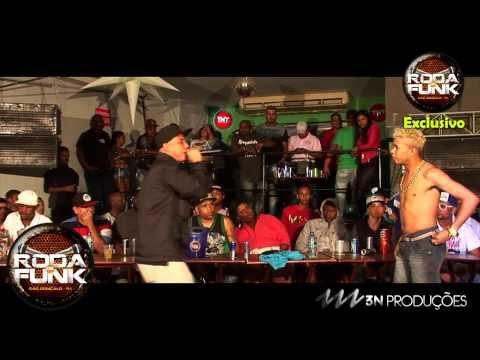 MC'S Magrinho e Copinho (O Reencontro)  Ao vivo na Roda de Funk :: FULL HD