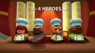 Overcooked - Co-op Chaos Trailer
