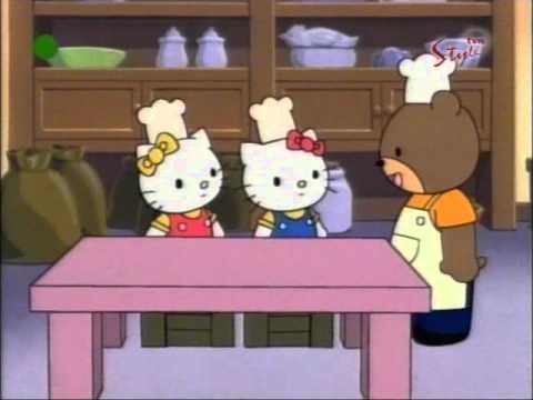Hello Kitty - odcinek 12 A bajki - Pieczemy ciastka PL