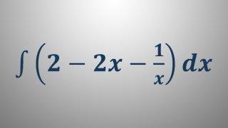 Nedoločeni integral 8