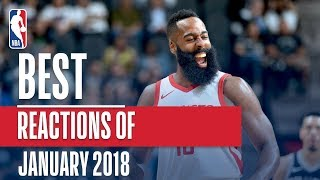 Best NBA REACTIONS of the Month | January 2018