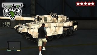GTA 5 TANK WARS!!! GTA 5 CUSTOM CARs! Hanging With The