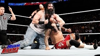 The Usos Vs. Luke Harper & Eric Rowan: WWE Main Event, May