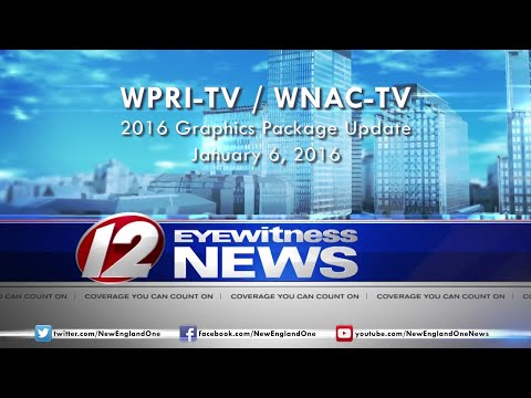 WPRI-TV CBS 12 / WNAC-TV FOX 64 - 2016 Graphics Package Update Montage - HD