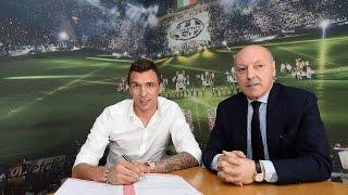 Mandzukic inizia la sua avventura alla Juventus - Mandzukic begins his Bianconeri adventure
