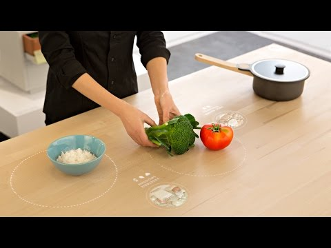 All-in-one digital table for Ikea