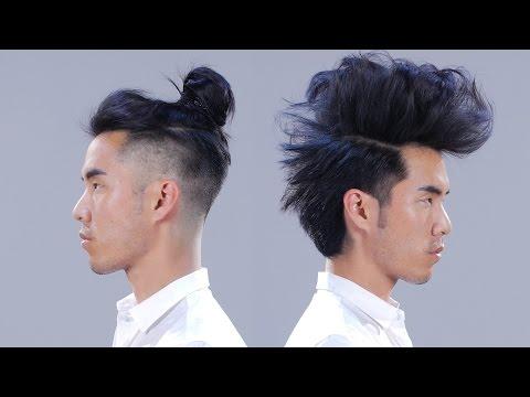 1 Man + 12 Hairstyles