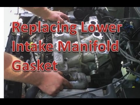 gm heater wiring replacing chevrolet lower intake manifold gasket youtube  replacing chevrolet lower intake manifold gasket youtube