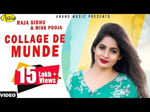 Collega De Munde Raja Sidhu & Miss Pooja [ Official Video ] 2012 - Anand Music