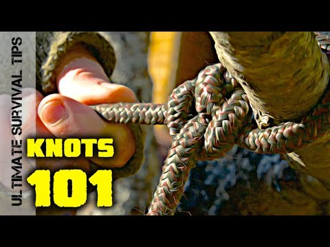 NEW! Top 5 KNOTS You Need / Camping / Survival / Hunting and Everyday Life.