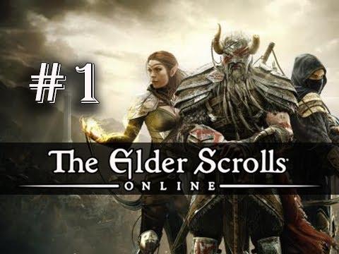 The Elder Scrolls Online Gameplay Walkthrough Part 1 - Imperial Dragonknight (ESO PC Ultra)