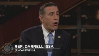 Rep. Darrell Issa Interview   Real Time with Bill Maher (HBO)