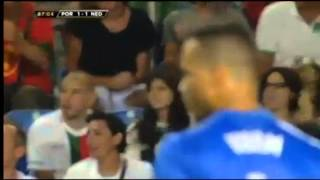 [Portugal Netherlands Cristiano Ronaldo Goal 1-1] Video