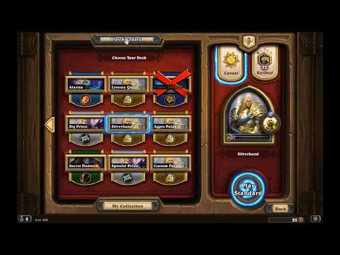 CHANNEL UPDATE #2  Playing some Silver Hand Pally! Hearthstone Gameplay