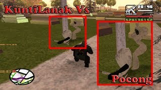 KuntiLanak Vs Pocong Fight GTA San Andreas CLEO