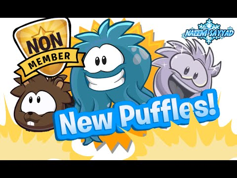 Club Penguin New Puffles 2015, 2016 and 2017