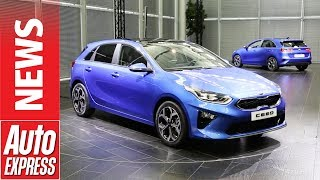 New Kia Ceed unveiled - family hatch sets sights on VW Golf and Ford Focus. Auto Express.