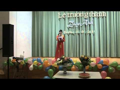 Hình ảnh trong video Le truong thanh Duy Anh Borna MC chi Minh