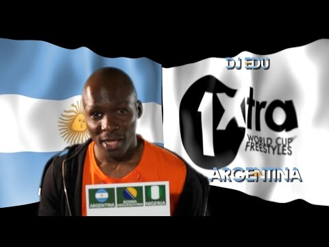 Argentina - Sergio Sandoval - 1xtra World Cup Freestyles | Ukg, Hip-hop, R&b, Uk Hip-hop