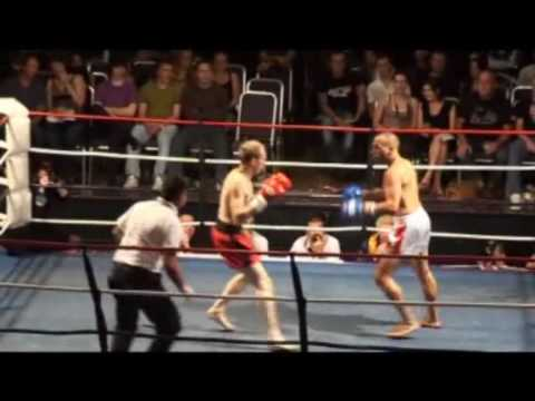My first amateur kickboxing fight ...