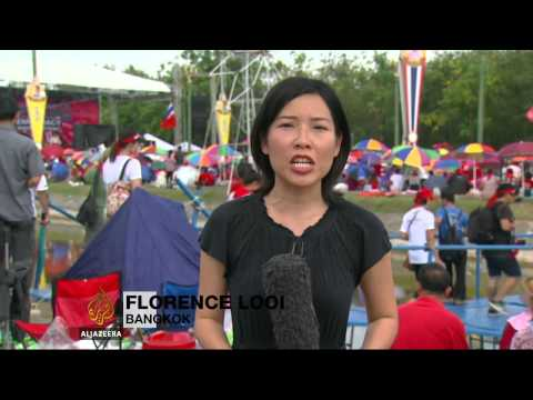 Thai rival protests take hold in Bangkok