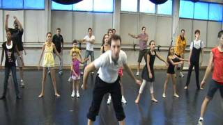 Sacramento Ballet Teaches A Flash Mob, Featuring Michael