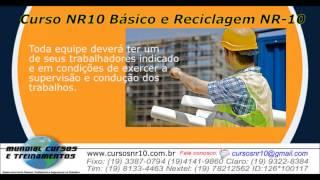 Curso NR10 b�sico e reciclagem   - youtube