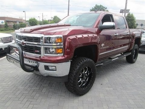 2014 Chevy Silverado 1500 LTZ Southern Comfort Black Widow - YouTube