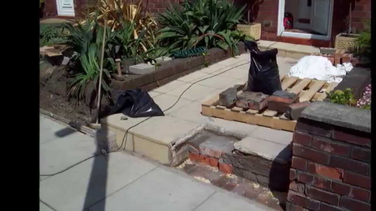 Brickwork Ideas For Garden Walls YouTube