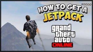 """GTA 5 How To Get The Jetpack Online """"Jetpack Easter Egg"""