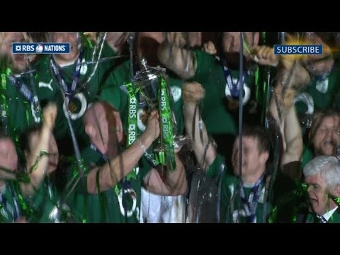Ireland are RBS 6 Nations Champions 2014 - 15th March 2014