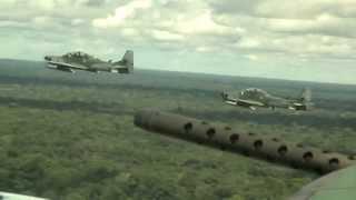 A Força Aérea Brasileira está presente na vida dos brasileiros 24 horas por dia, 7 dias por semana, o ano todo e em todas as regiões do País. Faz parte do dia a dia da população, por meio das várias atividades que realiza, como por exemplo, a Defesa Aérea.