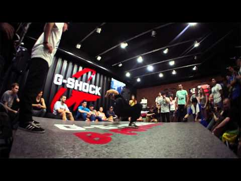 Alkolil vs Kolobok - Solo Final - G-shock Bboy Battle 2014