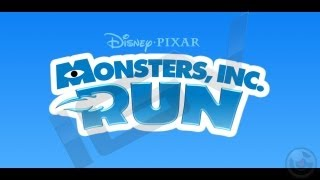 Monsters, Inc. Run IPhone & IPad Gameplay Video