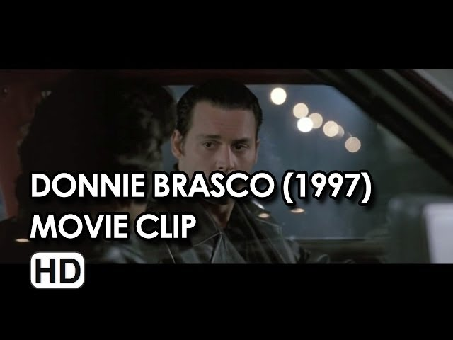 "Johnny Depp in ""If You're A Rat"" Clip from Donnie Brasco (1997) HD"