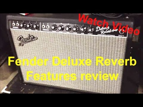 fender deluxe reverb 1x12 tube guitar tech combo amplifier reviews