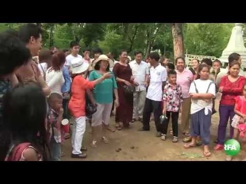 Traditional Game on Khmer New Year
