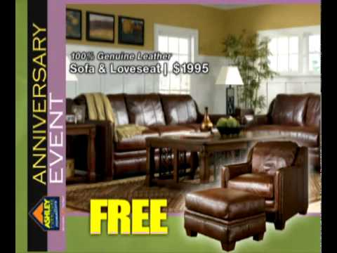 Ashley home furniture anniversary event ad youtube Ashley home furniture weekly ad