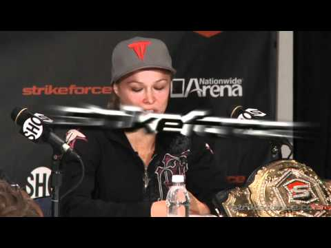 STRIKEFORCE: Tate vs. Rousey Post-Fight PC Highlights